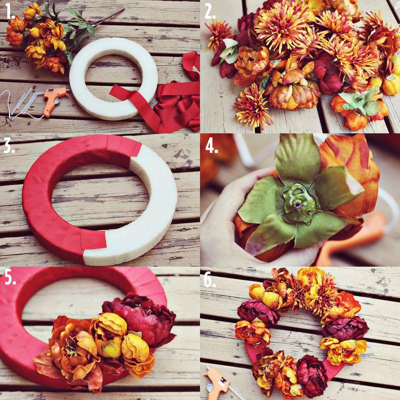 Autumn Wreath DIY