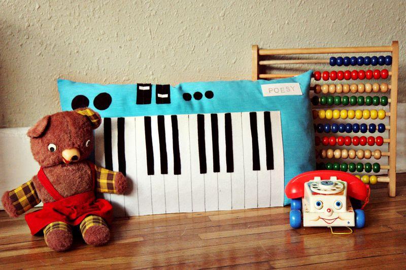 Keyboard Piano Plush Toy