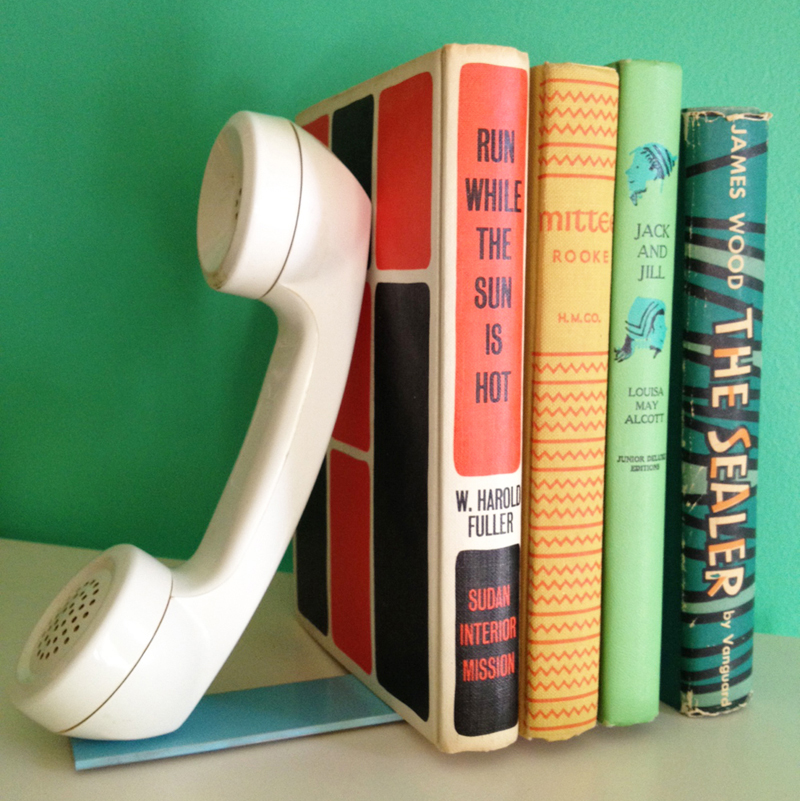 DIY Bookends (via A Beautiful Mess)
