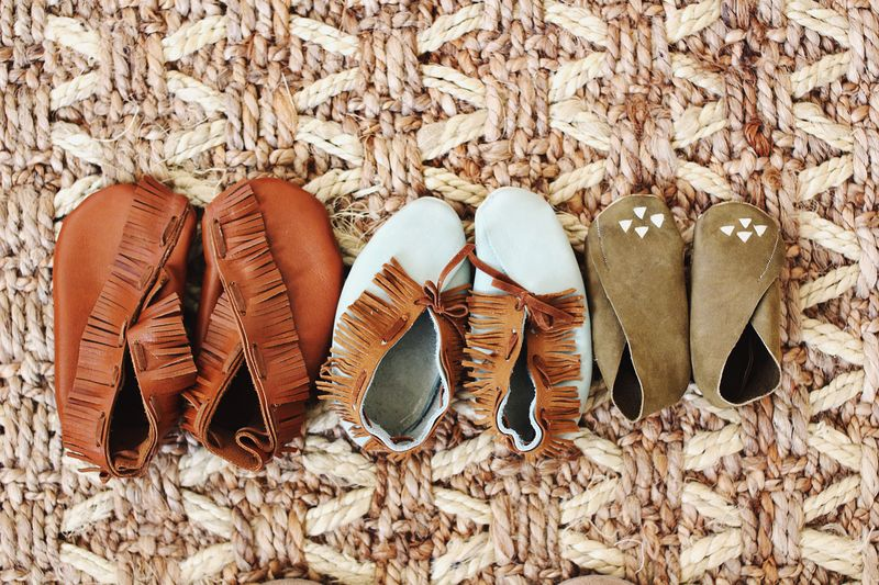 Diy Moccasins For Children A Beautiful Mess