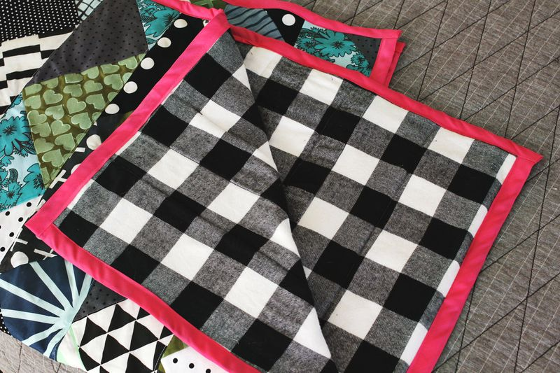 Hand Printed Quilt
