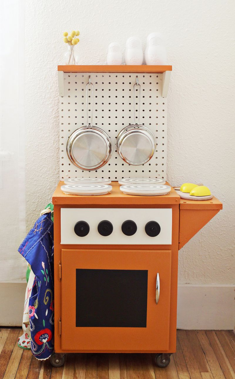 DIY Kitchenette via A Beautiful Mess