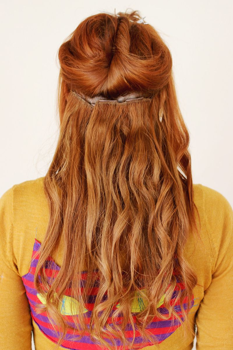 How To Put Hair Extensions In