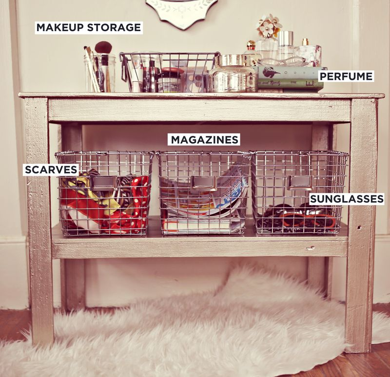 Everyday storage solutions (via A Beautiful Mess)