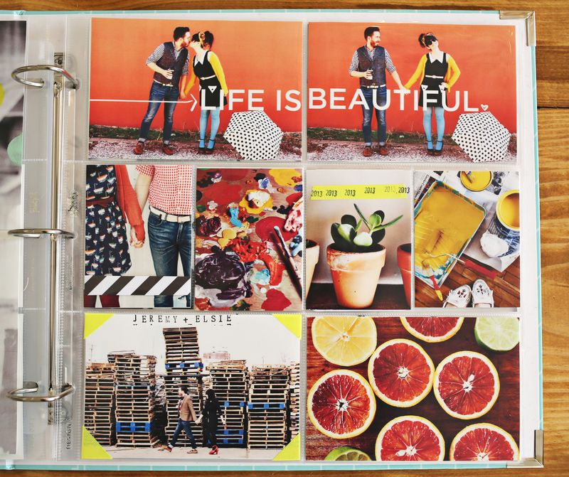 Project Life Ideas-via A Beautiful Mess