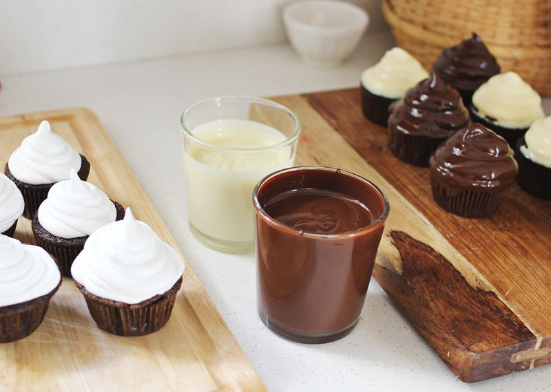 Tips for making hi hat cupcakes