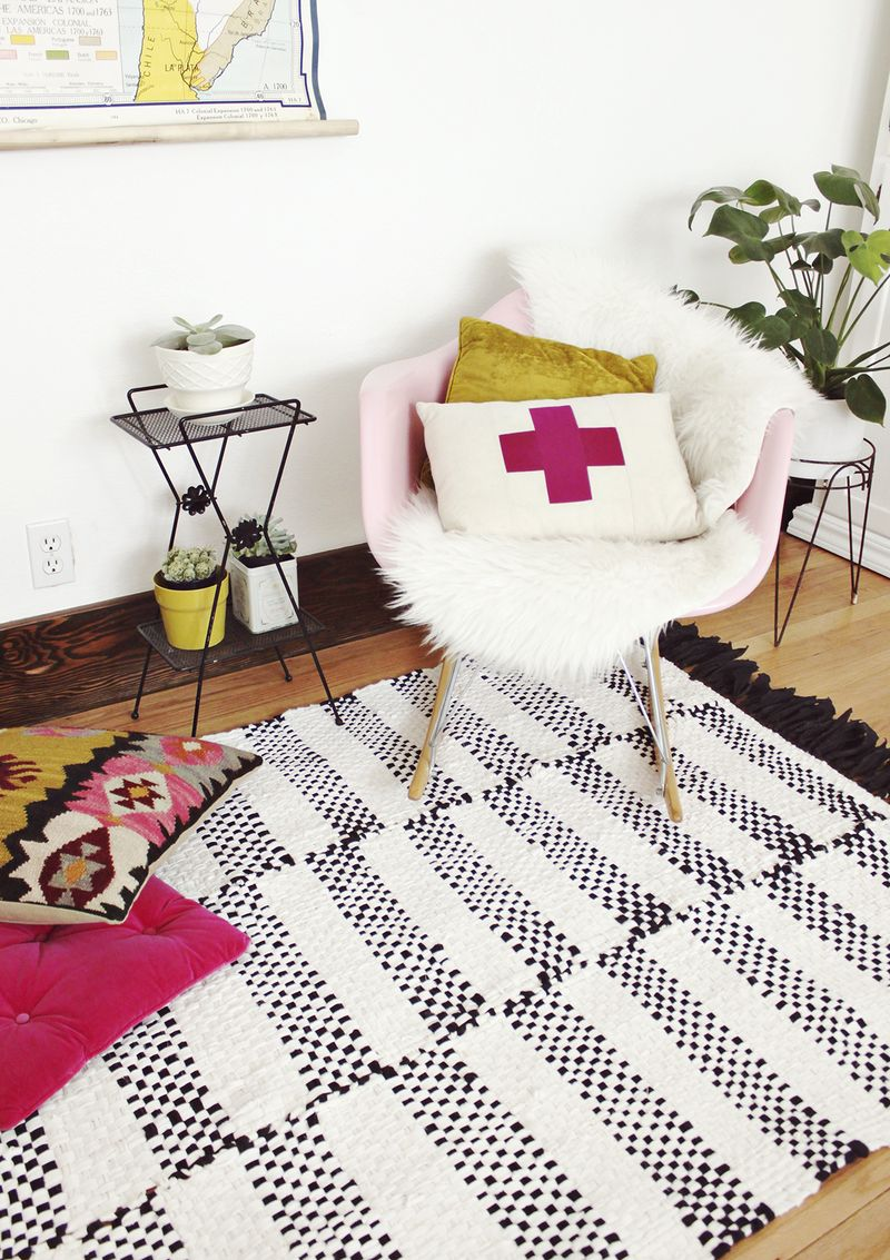 Woven Rug Diy A Beautiful Mess