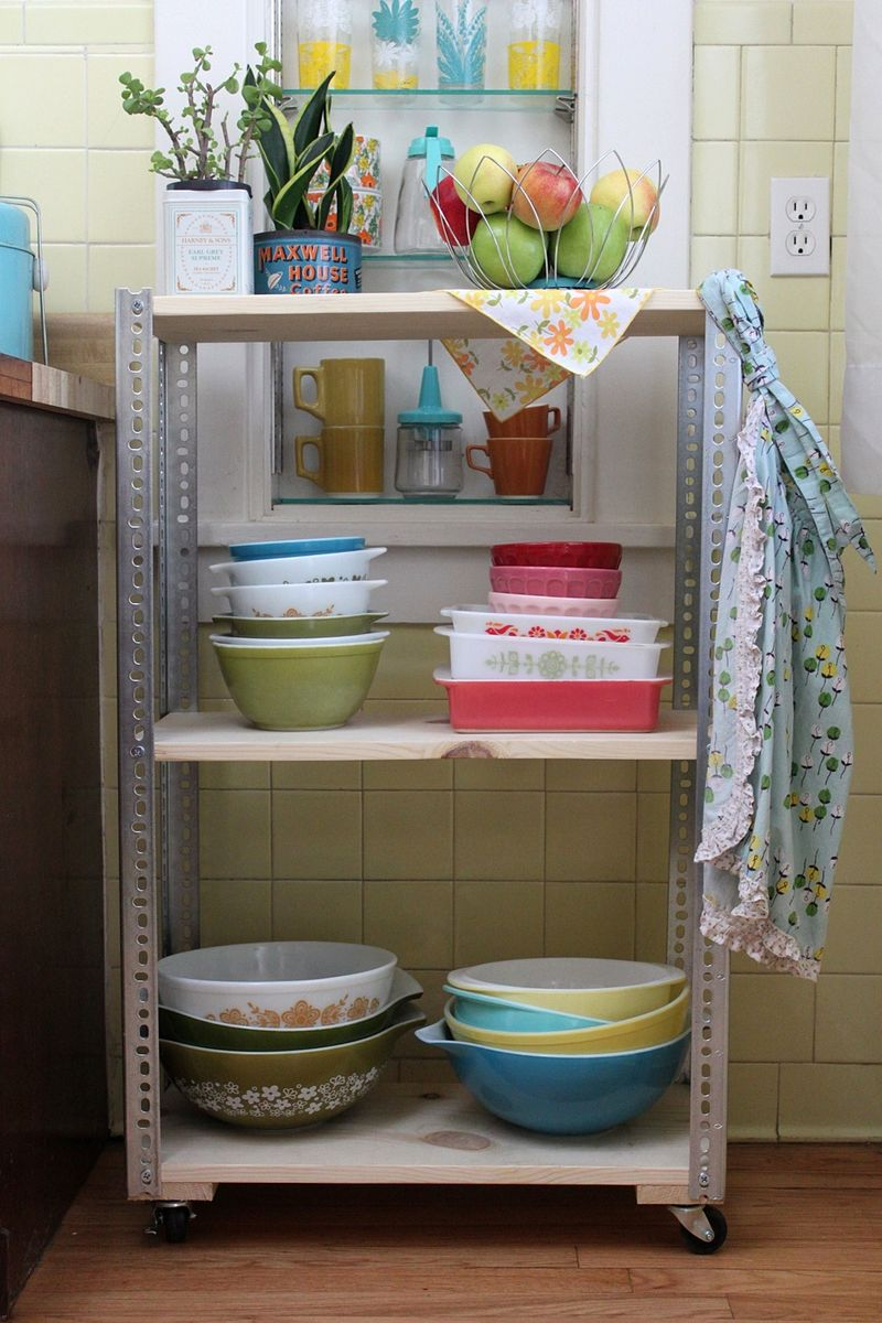 DIY Shelving Unit: 2 Ways - A Beautiful Mess