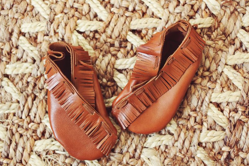Baby Moccasin DIY