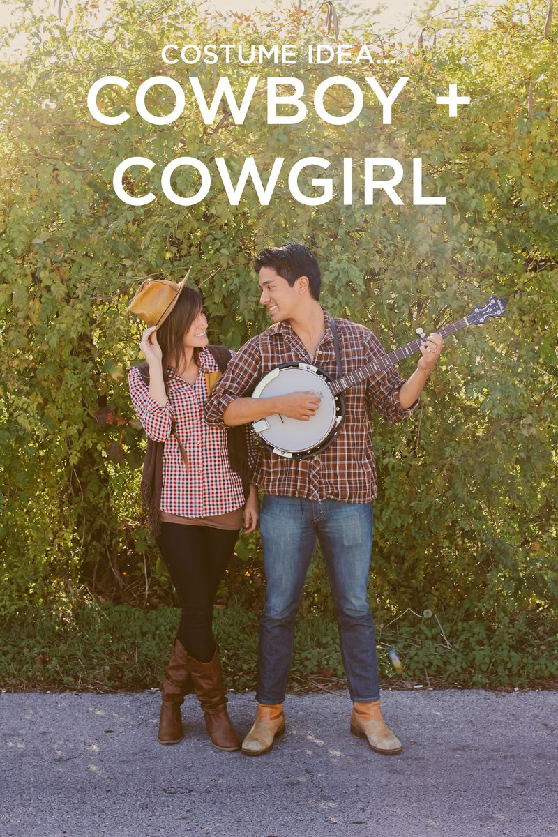 Cowboy + cowgirl costume idea