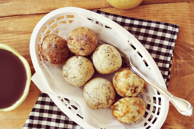 Aebleskiver Recipe (via A Beautiful Mess)