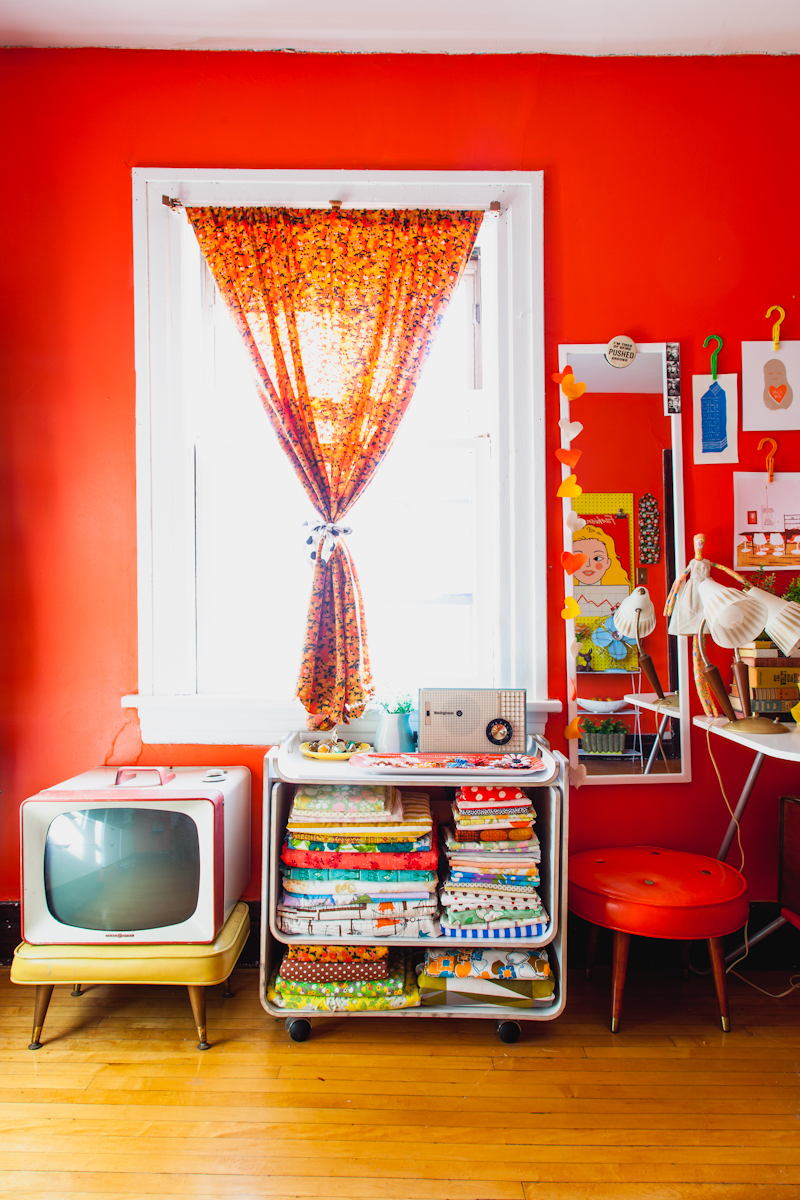 Gorgeous saturated room