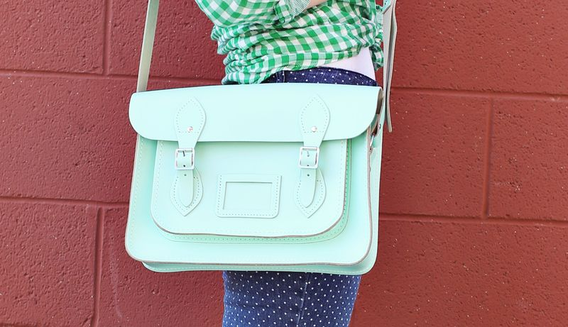 Mint Satchel