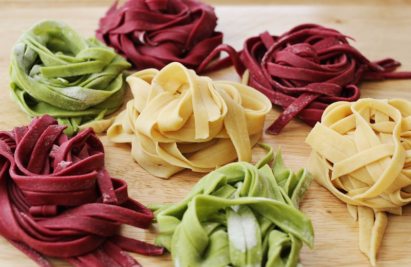 Step by step instructions for making fresh pasta