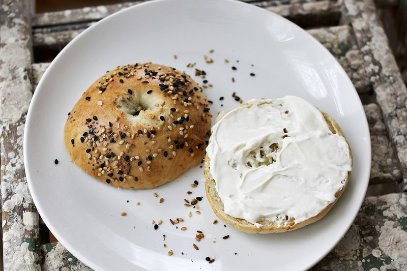 Delicious homemade bagels