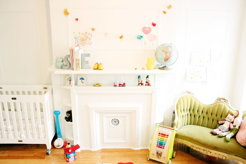 Love Taza: Rockstar Diaries nursery via A Beautiful Mess
