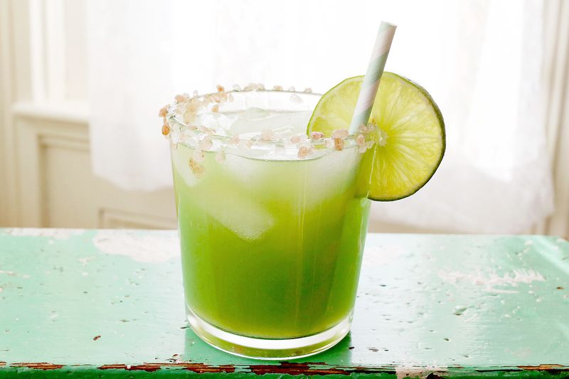 Yummy cucumber cocktail!