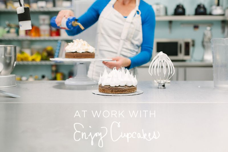At Work With Enjoy Cupcakes