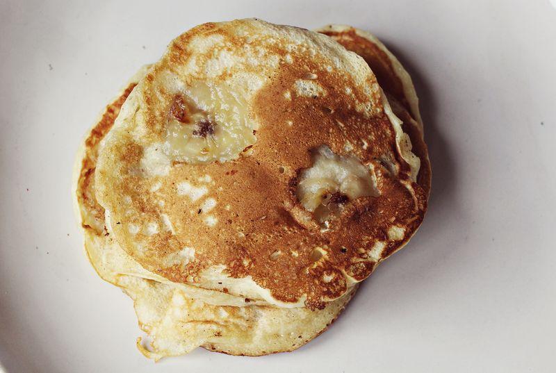 Easy banana pancake recipe