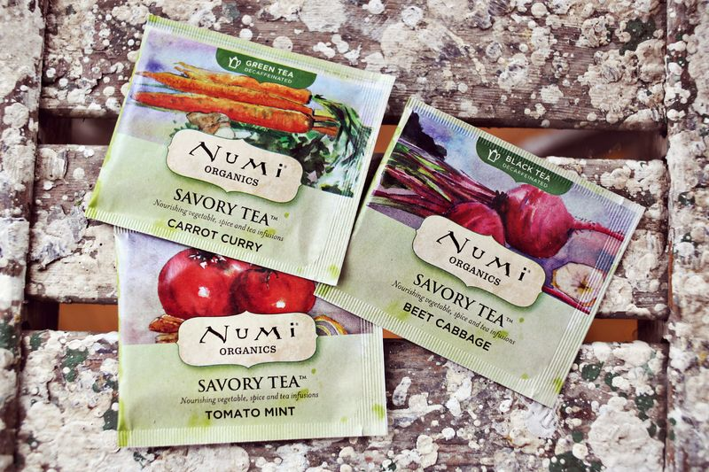 Numi savory teas are amazing!
