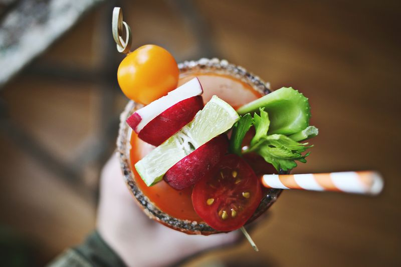 Mmm… bloody marys are my favorite!