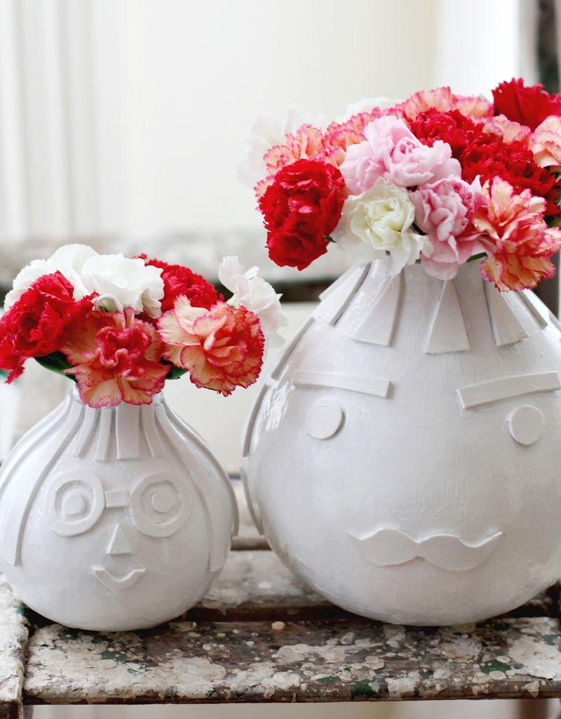Textured Vase DIY