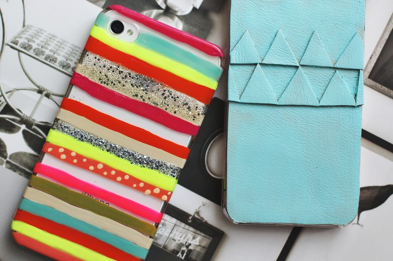 Artful iPhone Cases | Super Cool DIY Christmas Gifts For Teens