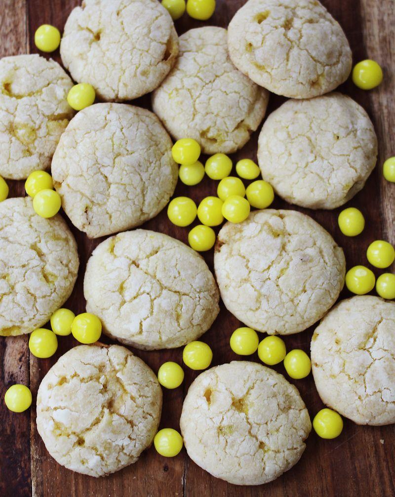 Lemonhead Cookies! - A Beautiful Mess