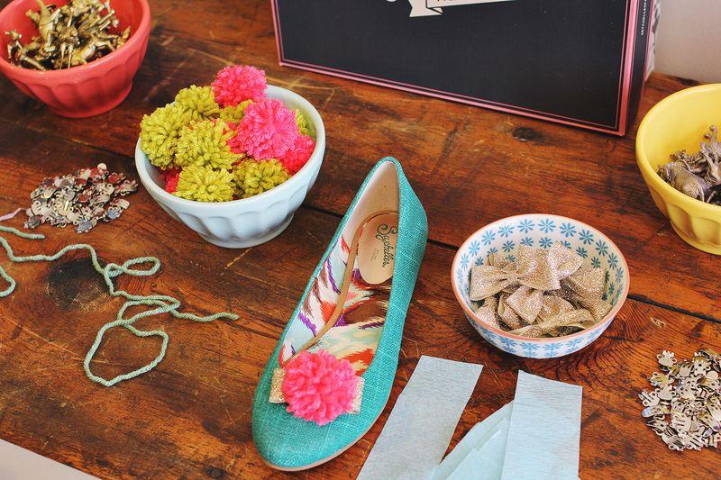 Seychelles shoe DIY