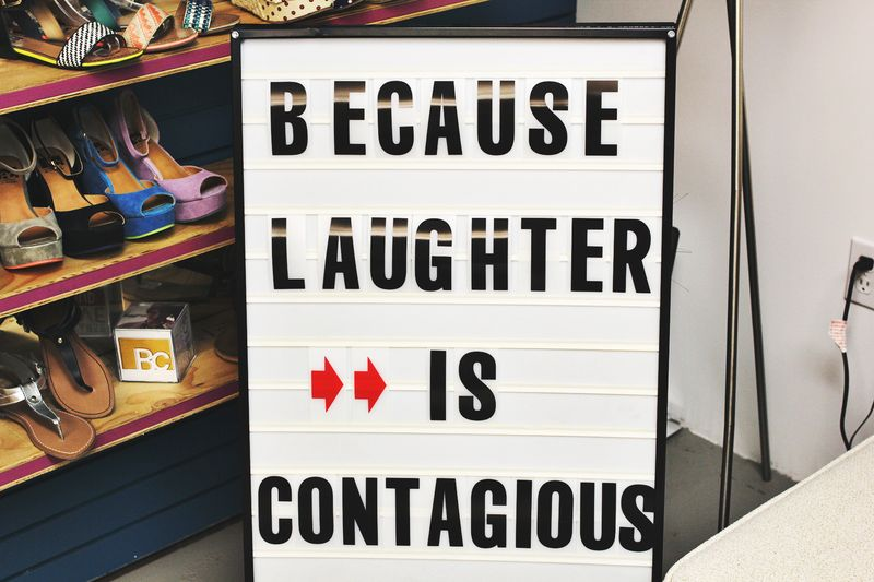 Because Laughter is Contagious