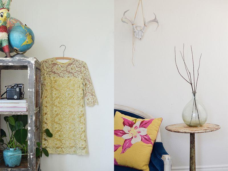 Lovely details in Rubyellen Bratcher's home