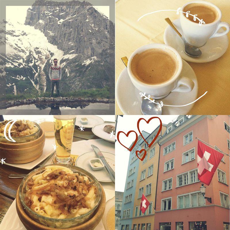Emma and trey go to switzerland