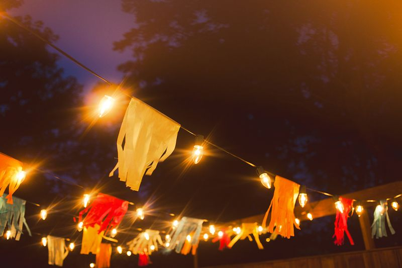 A Colorful Summertime Back Porch Party www.abeautifulmess.com 11