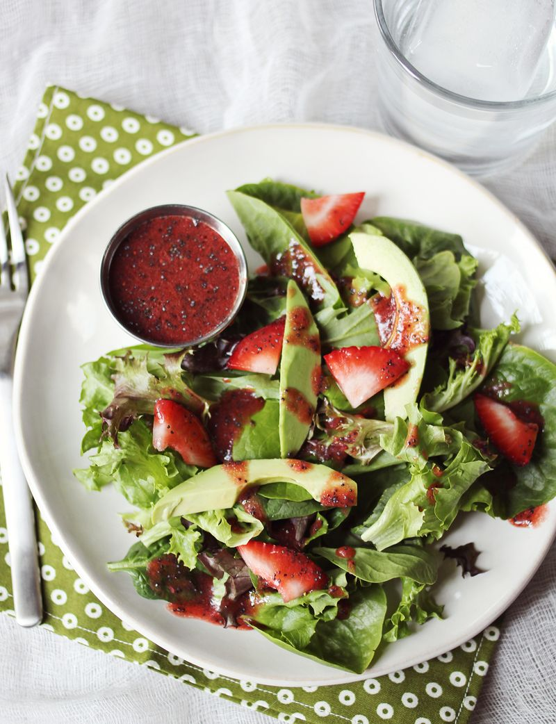 Strawberry balsamic vinaigrette recipe