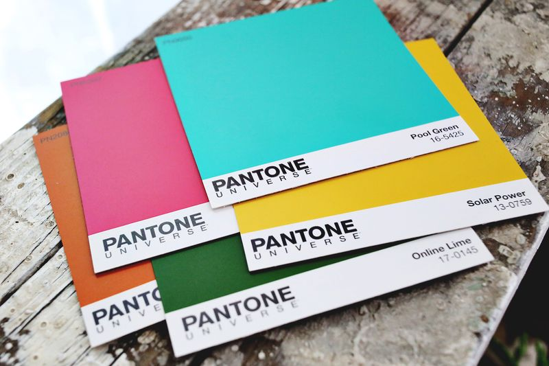 Pantone colors for Valspar! www.abeautifulmess.com
