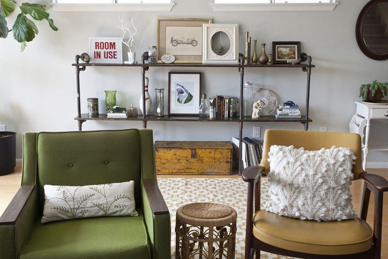 At Home With Jennifer Bewerse via A Beautiful Mess