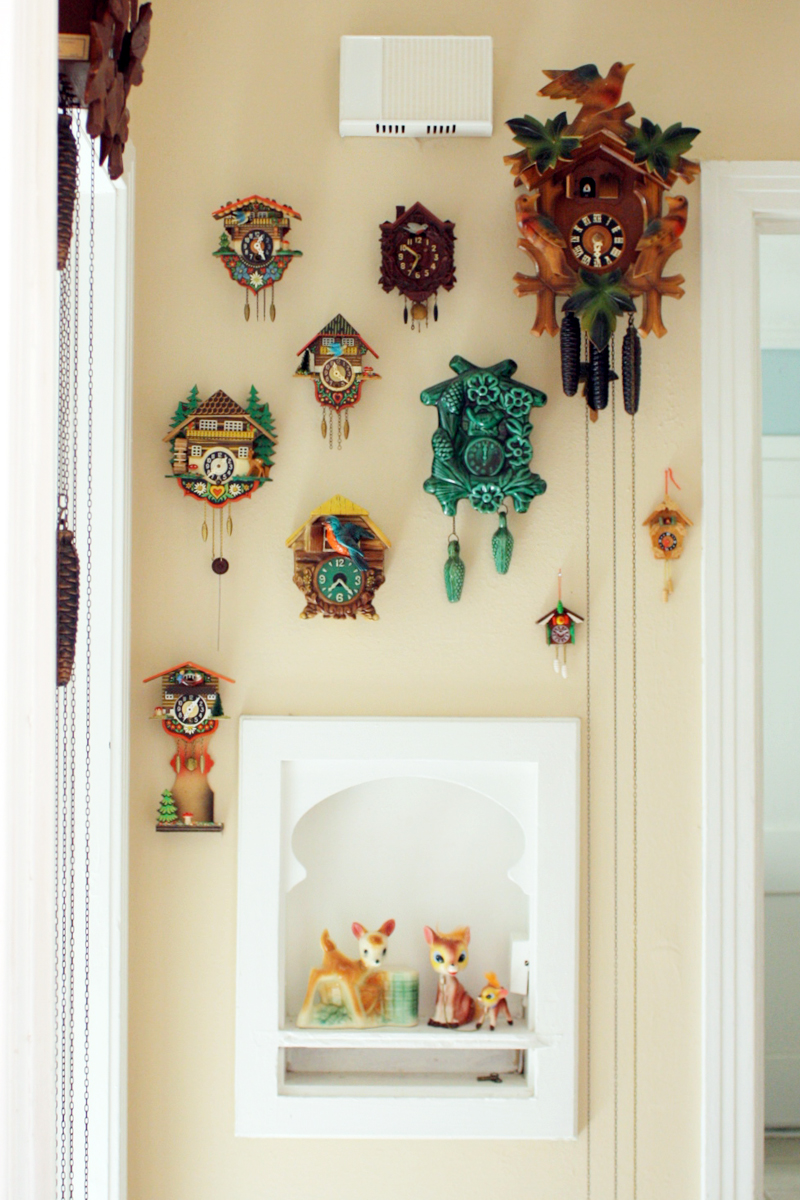 Cuckoo clock collection