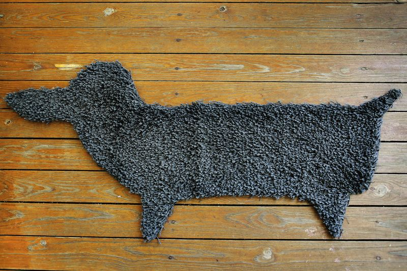 Make your own rug in ANY shape! 3