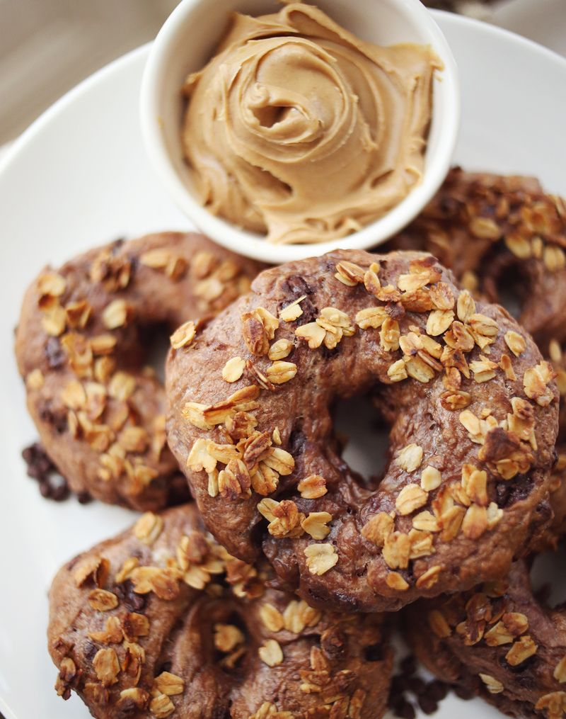 Chocolate chip bagels!