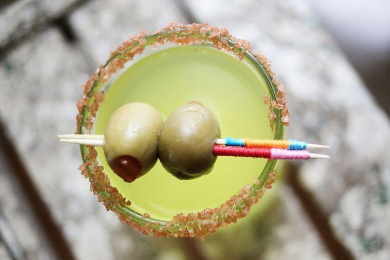 10 ways to make a cocktail stick 6 www.abeautifulmess.com