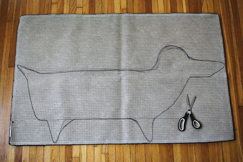 Make your own rug in ANY shape! 1