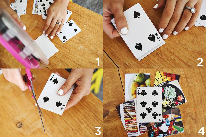Diy Ideas With Playing Cards Sfb