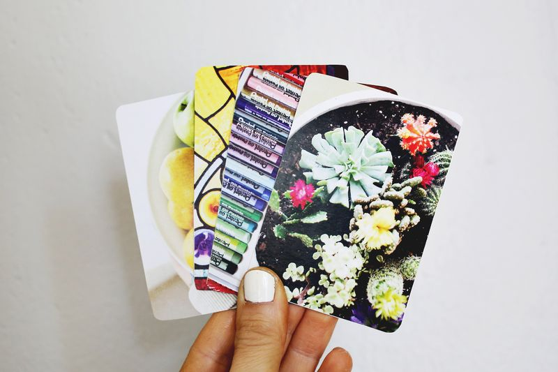 Diy Photo Playing Cards A Beautiful Mess