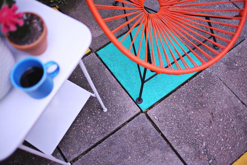 Back yard living! www.abeautifulmess.com
