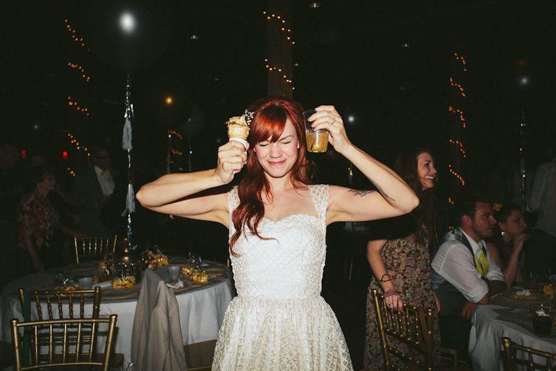 Emma's wedding reception www.abeautifulmess.com