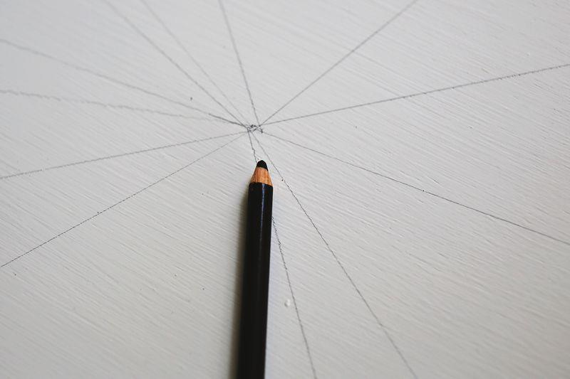 DIY Geometric Nesting Tables via abeautifulmess.com Step 2