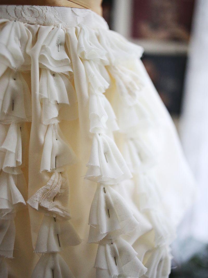 How To Make A Wedding Dresses.Emma S Diy Wedding Dress A Beautiful Mess