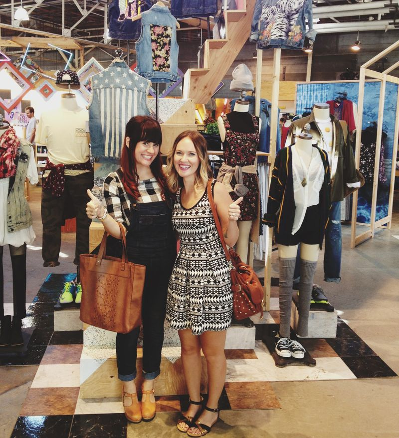 Elsie + Emma at Urban Outfitters