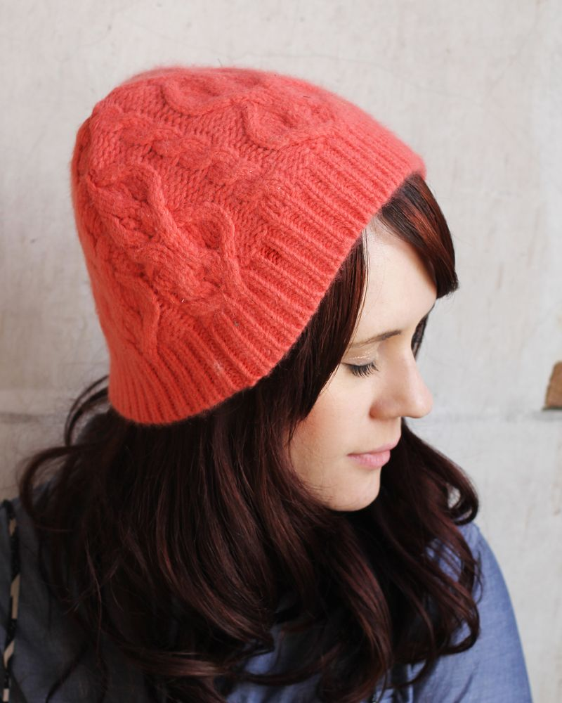 Make a stocking cap
