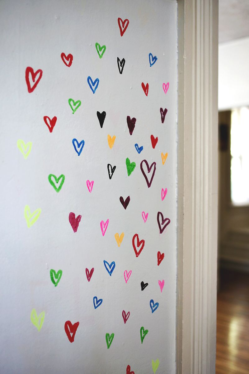Try This Paint A Wall With Dry Erase Paint A Beautiful Mess